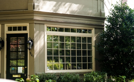 Windows Are The Focus Of Our Eyes When We Walk Down A Capitol Hill Block.  Some Front Windows Are Embellished With Ornate Brickwork And Sculpture, ...