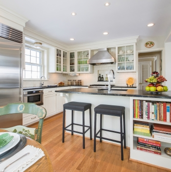 An Antique Table Inspires A Modern Kitchen Design Capital Adorable Antique Kitchen Design