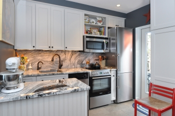 The Compact Yet Luxurious Kitchen In A Small Capitol Hill Townhouse Photo Anne Rokus