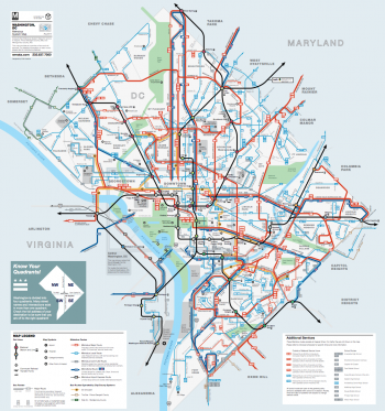 Wmata Bus Map Bus Route Changes Starting March 27 | Capital Community News